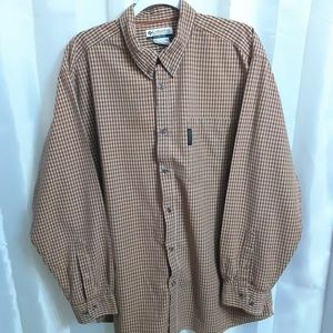Columbia Long Sleeve Button Down Shirt